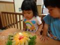 ゆいかちゃん・なぎと君 満2歳 おめでとう!