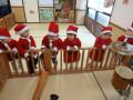 クリスマス会: うわぁーちびサンタたちがたくさん!