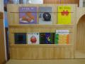 遊び棚 完成!: うわー!図書館みたい!素敵な棚が出来上がりました。