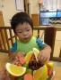 2歳らしく、もりもり食べます!