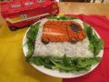 しゅうたろうくんが大好きなおもちゃ Hyper Rescue のケーキにしました!