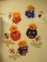 うさぎ組の鬼のお面の制作です。紙皿を使って作りました!