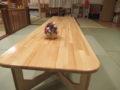 大工さん手作りのテーブル